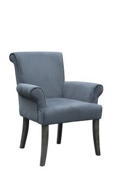 Chic and stylish	 the Calla Chair has a sleek	 curvy design that will add elegance to any area of your home. The Charcoal microfiber upholstery is accented by Grey legs. The ultra plush seat and back adds long lasting comfort to the piece. Perfect for a range of decor styles.