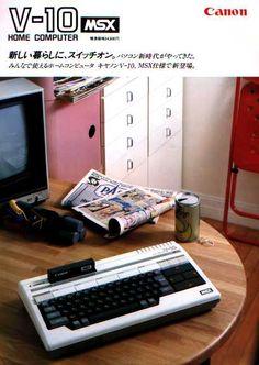 V-10 Canon MSX computer.