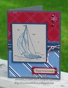 My Hubby's Anniversary Card