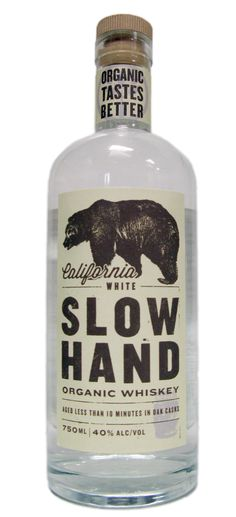 Slow Hand Organic Whiskey (California)