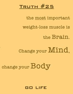 Fitness truth #25