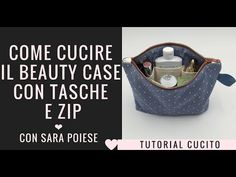 Beauty Case, Pochette Diy, Cosmetic Case, Sewing Patterns Free, Couture, Diy And Crafts, Grande, Up, Hobby