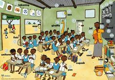 rural school in Africa