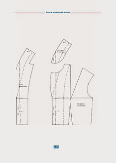 Sewing totarial and dress pattern Sewing Sleeves, Sewing Courses, Modelista, Skirt Patterns Sewing, Pattern Drafting, Fashion Sewing, Skirt Fashion, Sewing Projects, Stitch