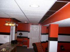 Rustic Man Cave Paint Colors : My husbands cleveland browns man cave men