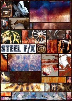 The Missing Manual, 'Steel Patinas & Finishes' is a Free Download.