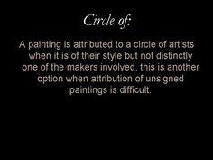 Glossary entry: 'Circle of'