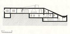 villa malaparte floor plans - Google Search