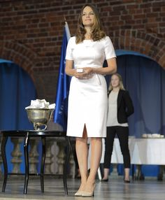 Swedish Princess Sofia at graduation ceremony for Sophia Sisters