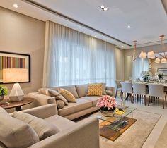 Apartamento - Ambientes integrados by Horta e Vello Arquitetura  @_decor4home