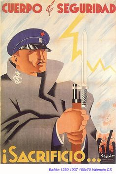 Spain - 1937. - GC - poster - autor: Bañón
