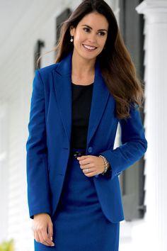 The Classic Wool-blend Blazer Women's | Chadwicks