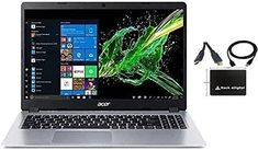 "2021 Newest Acer Aspire 5 15.6"" FHD 1080P Laptop Computer AMD Ryzen 3 3200U Dual Core Processor (Beat i5-7200U) 8GB RAM 256GB SSD Backlit Keyboard WiFi Bluetooth HDMI Windows 10 Pro w/ RE Accessories | TravelTresure Laptops For Sale, Best Laptops, Wireless Lan, Bluetooth, Budget Laptops, Business Laptop, Best Computer, Hardware Software, Acer Aspire"