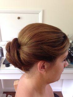 Hair up by Roxi Penfold at TONI&GUY Poole
