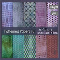 Patterned Papers 10 : Digital Scrapbooking Store | Digital Scrapbook Kits | Free Digital Scrapbooking