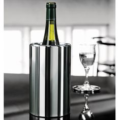 Stelton Wine Cooler - Style # 483, Modern Bar Accessories, Contemporary Bar Accessories, Alessi, Iittala at SwitchModern.com