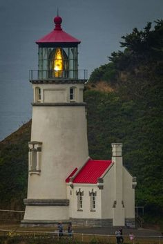 #Lighthouse with it's beacon aglow! http://dennisharper.lnf.com/
