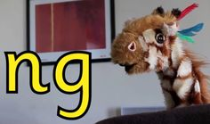 Geraldine Giraffe learns about the 'ng' consonant digraph