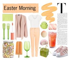 """group contest: Easter morning - 20170410"" by catharine-polyvore ❤ liked on Polyvore featuring Topshop, Miss Selfridge, adidas Originals, Sigma, Dfi, OXO, Zara Home, Pier 1 Imports, Charlotte Russe and Tony Moly"