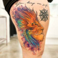 Watercolour Tattoos, Watercolor, Tattoo Toronto, Ink, Pen And Wash, Watercolor Painting, Watercolor Tattoo, Watercolour, India Ink