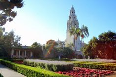 We love leisurely walks through the Alcazar Gardens in Balboa Park..... Tell us what you love about San Diego!