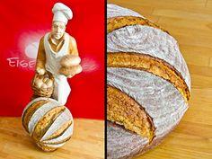 Lecker aufgerissen: Altbrotroggen Buns, Rye, Bread Baking, Food And Drinks, Po' Boy, Mixing Bowls