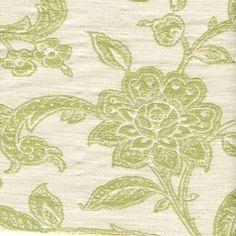 Courtney Jacquard Leaf Floral Fabric - Drapery Fabrics at Buy Fabrics