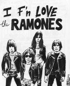 I fucking love the Ramoes.