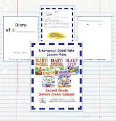 2nd Grade Emergency Sub Plans!