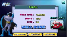 Batman Zombies Smasher game. Play game at http://www.y7games.info/batman-zombie-smasher.html. Batman is all set to drift his car in seven Amazing Tracks, Now this time he is killing zombies and unlock new cars, Make sure you drift and squish the given number of zombies in each level and unlock other exciting levels.