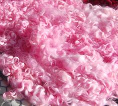 Hand Dyed Cotswold Sheep Curls Locks for by LaTeaDaDesigns on Etsy, $4.35