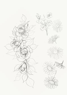 Pen Tattoo, Lace Tattoo, Tattoo Drawings, Tattoo Floral, Mom Tattoo Designs, Flower Tattoo Designs, Flower Tattoos, Mom Tattoos, Future Tattoos