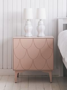 Classic and contemporary bedside boxes with simple versatile storage to suit any age or style. Customise your designs, colour and leg options.
