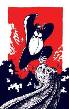 In The Spotlight – King Kong | Oculoid | Art & Design Inspiration