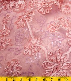 a little material for the Mr & Mrs table - David Tutera Fabric - Sequin Bouquet Mesh Rose Embroidery Works, Ribbon Embroidery, Sequin Fabric, Blue Fabric, Online Craft Store, Craft Stores, Wedding Dress Chiffon, Tulle Wedding, Mermaid Wedding