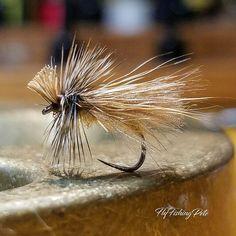 3 Deer Hair Caddis Dry Truite Mouches de pêche Mouches Tailles 10 12