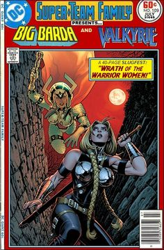 Super-Team Family: The Lost Issues!: Big Barda and Valkyrie