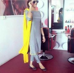 To customize whatsapp 9043230015 for Saree, blouse and Kurtis Churidar Designs, Kurta Designs Women, Punjabi Dress, Pakistani Dresses, Indian Dresses, Stylish Dresses, Simple Dresses, Suit Fashion, Fashion Outfits
