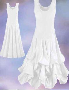 White Goddess wedding dress sundress 1XL Pyramid Collection