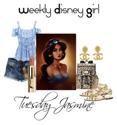 """""""Weekly Disney Girl"""" by beingbrunette on Polyvore"""