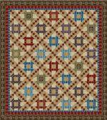 Blue Hill Fabrics Civil War Era Quilt Pattern