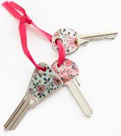 Customiser des clefs