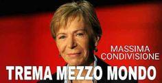 La Gabanelli e' una famosa giornalista della RAI 3,che con il suo programma inchiesta REPORT ha spesso creato imbarazzo in autorità' politiche. Ma come tutti i giornalisti non supera quella famosa linea rossa...