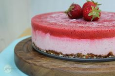 greenthyme: Frozen Strawberry Lemon 'Cheesecake'