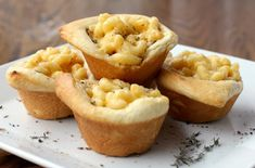 Macaroni and Cheese Cups are Bite-Sized Comfort Food.