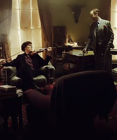 Sherlock and Mycroft - Sherlock BBC ---- This looks like the second before an epic battle.