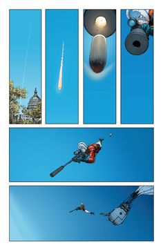 Frank Quitely - Multiverity: Pax Americana.