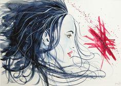 Warm up by SteveHeggen.deviantart.com on @DeviantArt #watercolor #setveheggen #portrait http://heggen.be