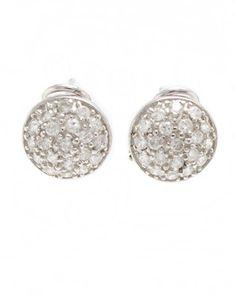 Pendientes de plata y circonitas Diamond Earrings, Engagement Rings, Jewelry, Fashion, Jewels, Enagement Rings, Moda, Fashion Styles, Schmuck