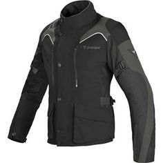 Dainese - Women's Tempest D-Dry Jacket - Black/Dark Grey